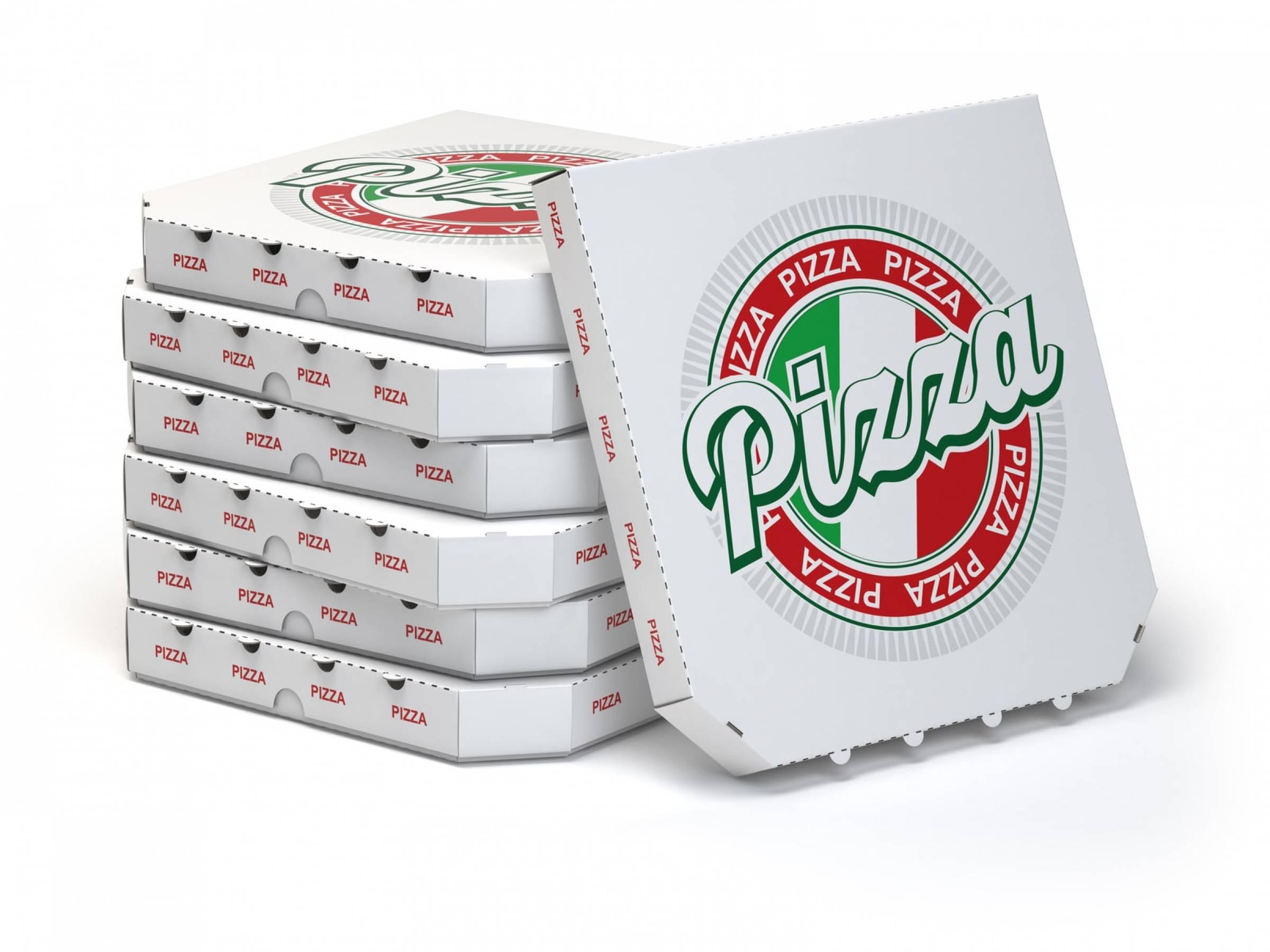 Ohne ihn geht's nicht: der Pizzakarton